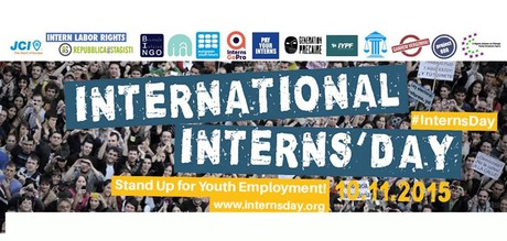 stage lavoro international interns day 2015